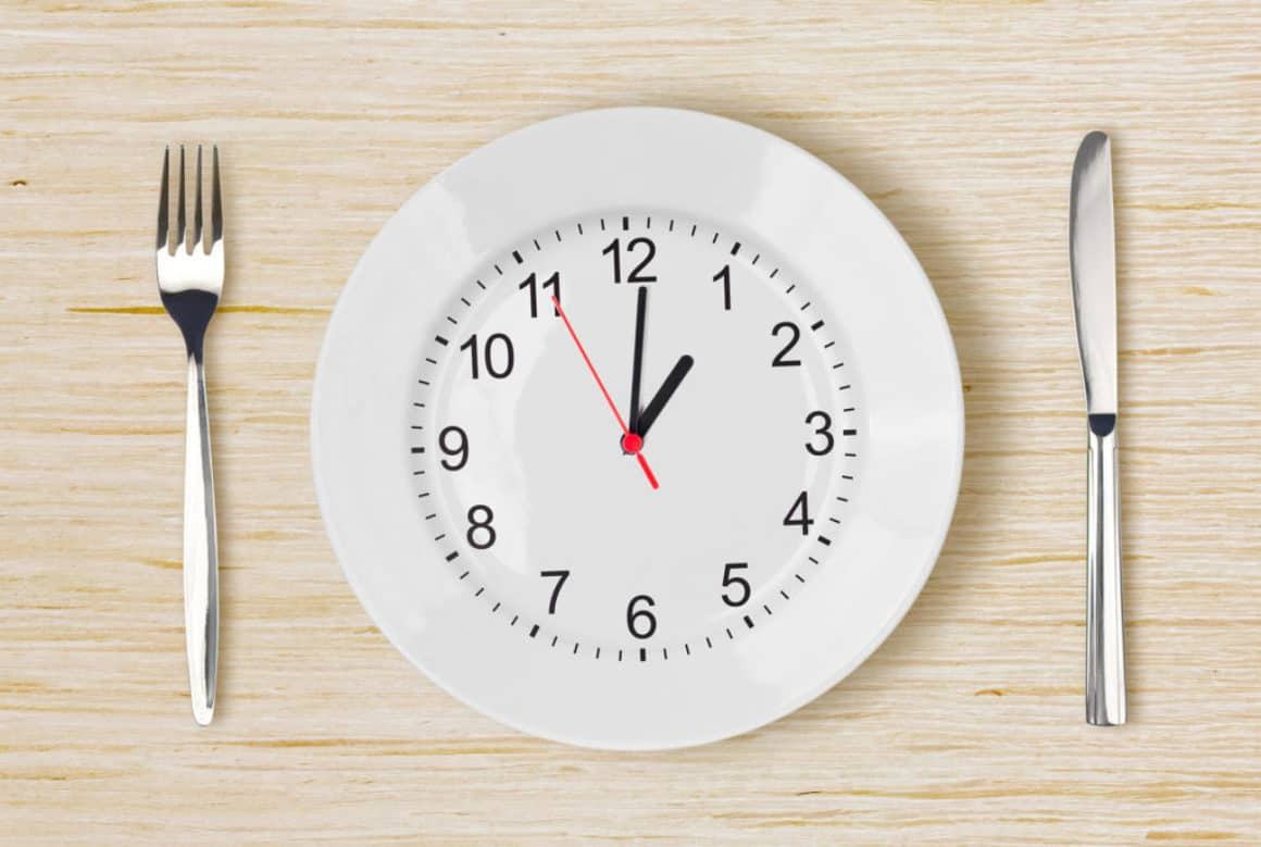 intermittent-fasting-clock-plate